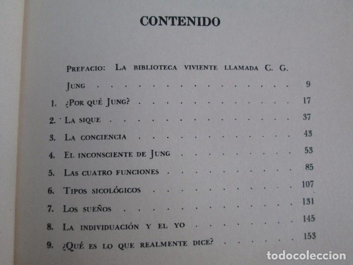 Libros de segunda mano: ENTENDIENDO A JUNG. NORMAN WINSKI. EDITORIAL DIANA 1973. VER FOTOGRAFIAS ADJUNTAS - Foto 9 - 101108575