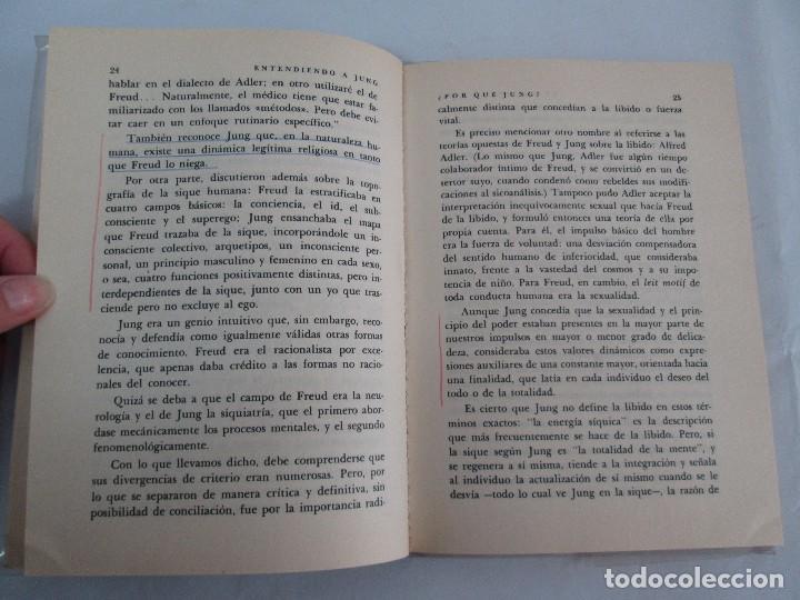 Libros de segunda mano: ENTENDIENDO A JUNG. NORMAN WINSKI. EDITORIAL DIANA 1973. VER FOTOGRAFIAS ADJUNTAS - Foto 10 - 101108575