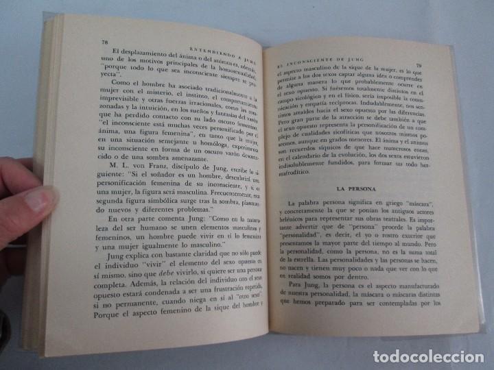 Libros de segunda mano: ENTENDIENDO A JUNG. NORMAN WINSKI. EDITORIAL DIANA 1973. VER FOTOGRAFIAS ADJUNTAS - Foto 12 - 101108575