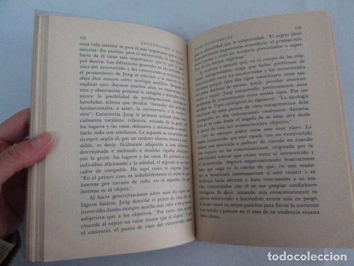 Libros de segunda mano: ENTENDIENDO A JUNG. NORMAN WINSKI. EDITORIAL DIANA 1973. VER FOTOGRAFIAS ADJUNTAS - Foto 13 - 101108575