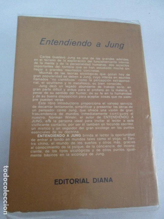 Libros de segunda mano: ENTENDIENDO A JUNG. NORMAN WINSKI. EDITORIAL DIANA 1973. VER FOTOGRAFIAS ADJUNTAS - Foto 15 - 101108575
