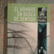 Libros de segunda mano - El hombre en busca de sentido - Viktor Frankl - 153622438