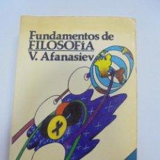 Libros de segunda mano: FUNDAMENTOS DE FILOSOFIA. V.AFANASIEV. 5º EDICION. 1982. COLECCION LITERARIA UNIVERSAL. Lote 101599351
