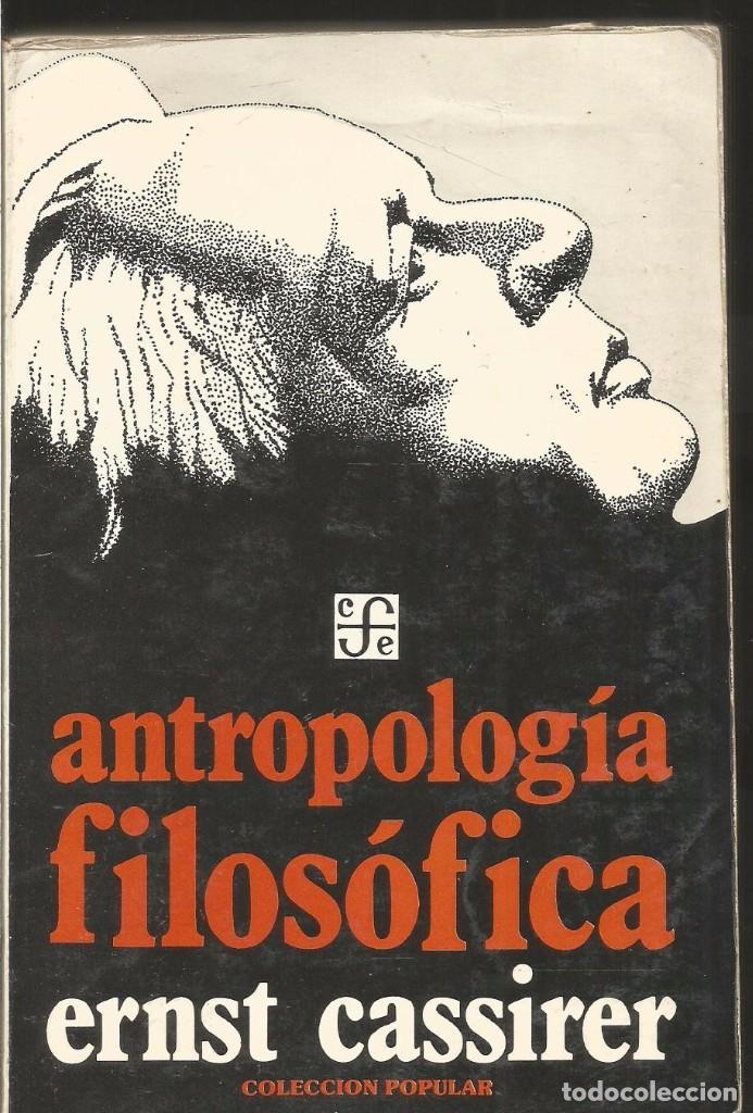 Resultado de imagen para antropologia filosofica cassirer