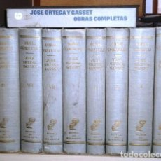 Libros de segunda mano: OBRAS COMPLETAS 9T POR JOSÉ ORTEGA Y GASSET DE REVISTA DE OCCIDENTE EN MADRID 1963 6ª EDICIÓN. Lote 102015151