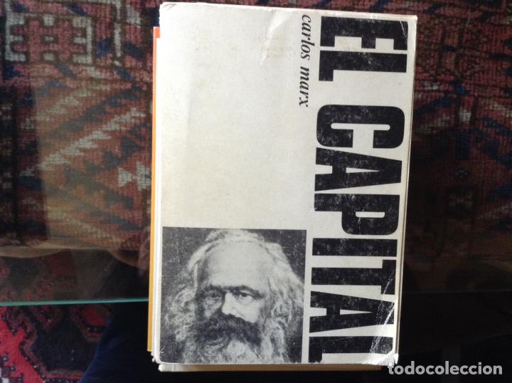 EL CAPITAL. CARLOS MARX (Libros de Segunda Mano - Pensamiento - Filosofía)