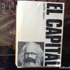 Libros de segunda mano: EL CAPITAL. CARLOS MARX. Lote 103481515