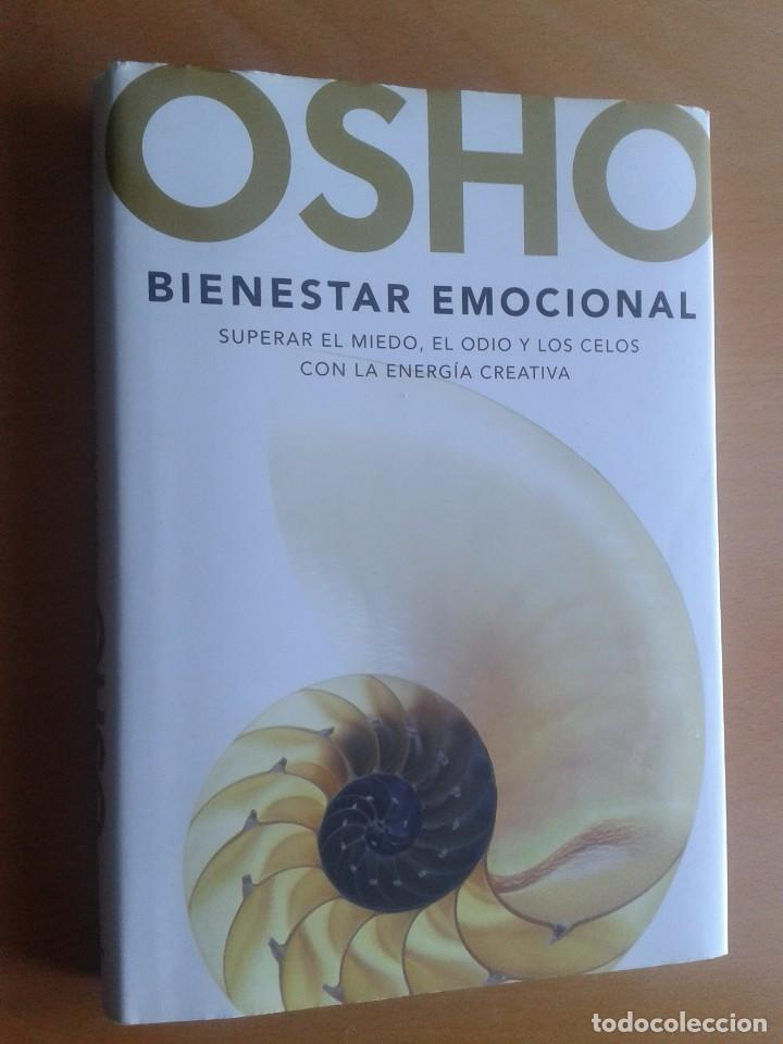 LIBRO OSHO,BIENESTAR EMOCIONAL (Libros de Segunda Mano - Pensamiento - Filosofía)