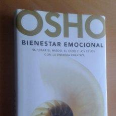 Libros de segunda mano: LIBRO OSHO,BIENESTAR EMOCIONAL. Lote 103524807