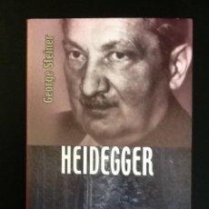 Libros de segunda mano: HEIDEGGER - GEORGE STEINER, BREVIARIO DEL FONDO DE CULTURA ECONÓMICA. Lote 105574543