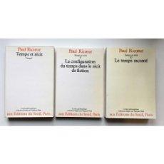 Libros de segunda mano: TEMPS ET RÉCIT. 3 TOMOS. Lote 105793343