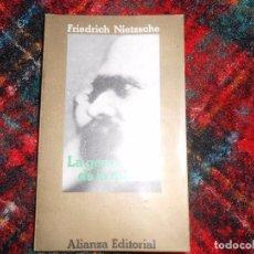 Livros em segunda mão: LA GENEALOGÍA DE LA MORAL - FRIEDRICH NIETZSCHE. Lote 105896383