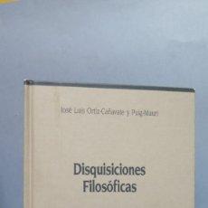 Gebrauchte Bücher - DISQUISICIONES FILOSOFICAS. JOSE LUIS ORTIZ - 107327591