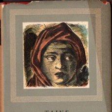 Libros de segunda mano: TAINE : FILOSOFIA DEL ARTE (IBERIA, 1946). Lote 108295762