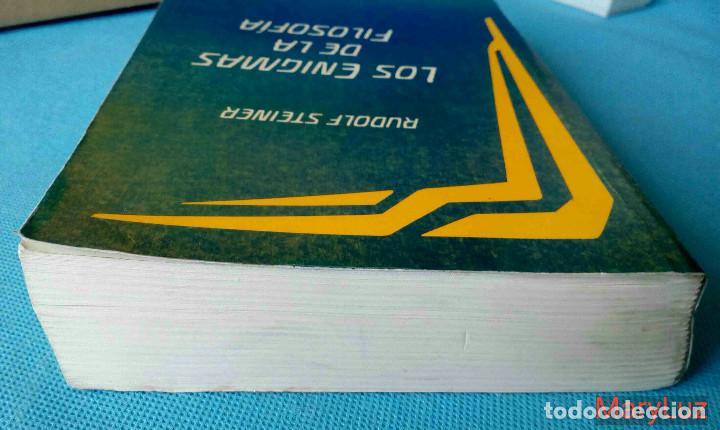 Libros de segunda mano: LOS ENIGMAS DE LA FILOSOFÍA -Rudolf Steiner- (Antroposofía). - Foto 5 - 108460451