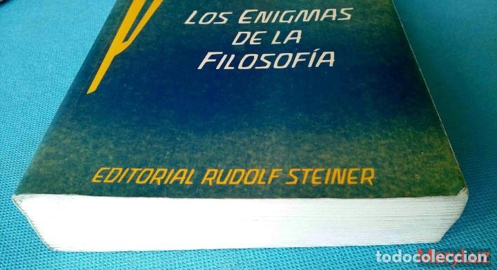 Libros de segunda mano: LOS ENIGMAS DE LA FILOSOFÍA -Rudolf Steiner- (Antroposofía). - Foto 6 - 108460451
