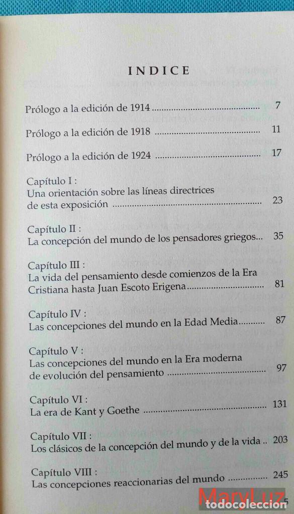 Libros de segunda mano: LOS ENIGMAS DE LA FILOSOFÍA -Rudolf Steiner- (Antroposofía). - Foto 7 - 108460451