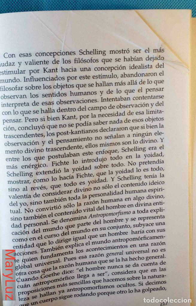 Libros de segunda mano: LOS ENIGMAS DE LA FILOSOFÍA -Rudolf Steiner- (Antroposofía). - Foto 9 - 108460451