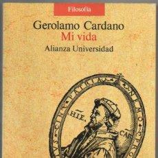 Libros de segunda mano: MI VIDA - GEROLAMO CARDANO *. Lote 109372527