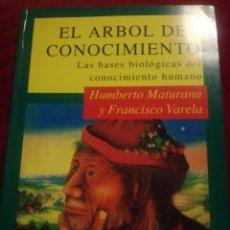 Libros de segunda mano: EL ÁRBOL DEL CONOCIMIENTO LAS BASES BIOLÓGICAS DEL CONOCIMIENTO HUMANO. Lote 109390015