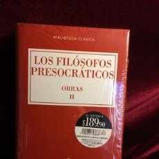 Gebrauchte Bücher - LOS FILÓSOFOS PRESOCRÁTICOS - OBRAS II - CLÁSICOS GREDOS - 111555971