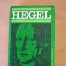 Libros de segunda mano: HEGEL - WALTER KAUFMANN. Lote 112045671