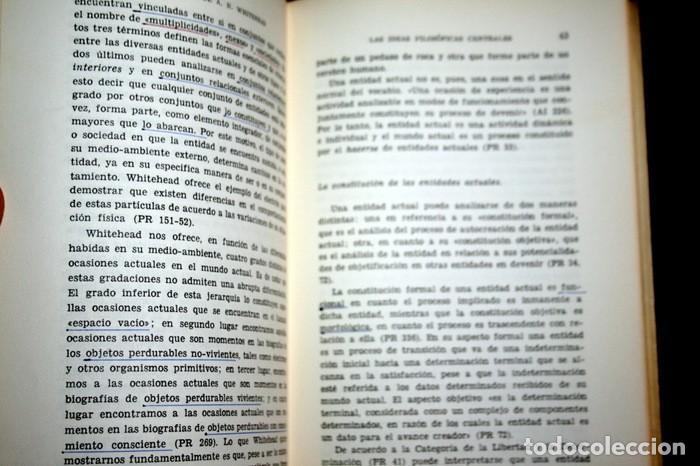 Libros de segunda mano: LA FILOSOFIA DE ALFRED NORTH WHITEHEAD - JORGE ENJUTO BERNAL - TECNOS - 1967 - Foto 2 - 112216051