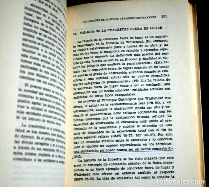 Libros de segunda mano: LA FILOSOFIA DE ALFRED NORTH WHITEHEAD - JORGE ENJUTO BERNAL - TECNOS - 1967 - Foto 3 - 112216051