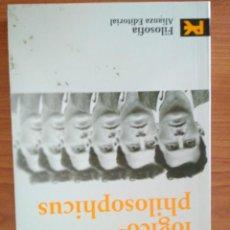 Libros de segunda mano: LUDWIG WITTGENSTEIN. TRACTATUS LOGICO-PHILOSOPHICUS. ALIANZA EDITORIAL FILOSOFIA. Lote 112438963