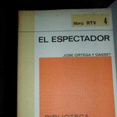Libros de segunda mano: EL ESPECTADOR, ORTEGA Y GASSET, ED. SALVAT . Lote 112650567