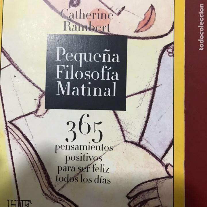 PEQUEÑA FILOSOFÍA MATINAL 365 PENSAMIENTOS PARA SER FELIZ (Libros de Segunda Mano - Pensamiento - Filosofía)