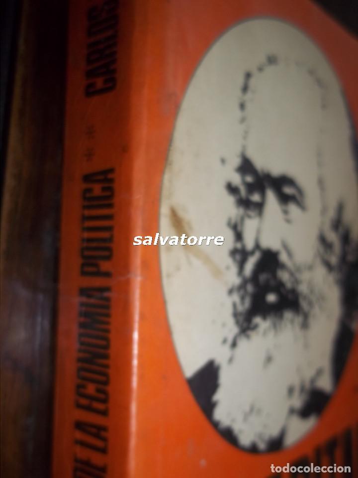 Libros de segunda mano: MARX.EL CAPITAL.CRITICA DE LA ECONOMIA POLITICA.FONDO CULTURA ECONOMICA.1976.VOLUMEN II - Foto 2 - 113332907