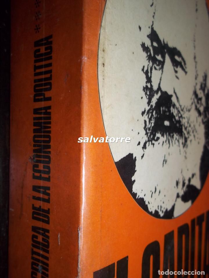 Libros de segunda mano: MARX.EL CAPITAL.CRITICA DE LA ECONOMIA POLITICA.FONDO CULTURA ECONOMICA.1976.VOLUMEN III - Foto 2 - 113332943