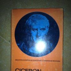 Libros de segunda mano: CICERÓN EN DEFENSA DE MURENA (JULIO PIMENTEL). Lote 113718962