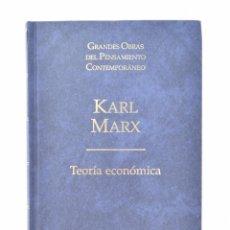 Libros de segunda mano: TEORÍA ECONÓMICA - MARX, KARL. Lote 149466734