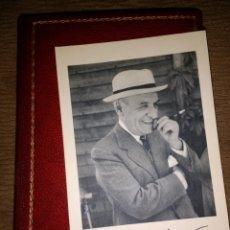 Libros de segunda mano: SOBRE EL AMOR. JOSÉ ORTEGA Y GASSET. EDITORIAL PLENITUD 1957. E. SÁNCHEZ LEAL. ENCUADERNACIÓN PIEL C. Lote 114614811