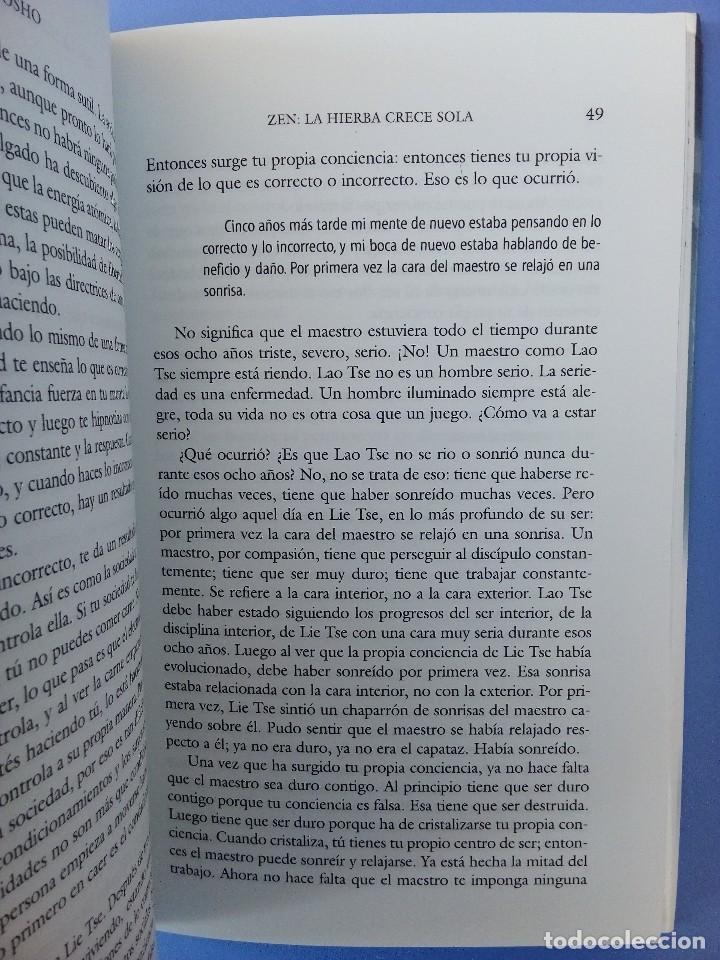 Libros de segunda mano: ZEN LA HIERBA CRECE SOLA OSHO EDITORIAL EDAF 1ª EDICION 2006 FILOSOFIA ORIENTAL BUDISMO INDIA - Foto 9 - 114628283