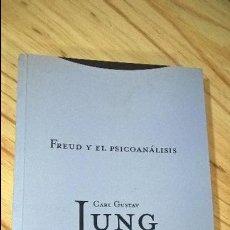 Libros de segunda mano: FREUD Y EL PSICOANALISIS. CARL GUSTAV JUNG. 4. TROTTA 2000.. Lote 114714163