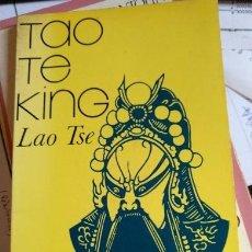 Libros de segunda mano: TAO TE KING. - TSE, LAO.. Lote 115763298
