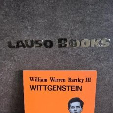 Libros de segunda mano: WITTGENSTEIN. WILLIAM WARREN BARTLEY III. CATEDRA 1987. . Lote 117750499
