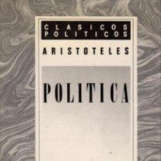Libros de segunda mano - POLÍTICA / ARISTÓTELES. ED. BILINGÜE (1989) - 118147479