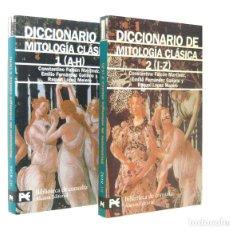 Libros de segunda mano: 2004 - DICCIONARIO DE MITOLOGÍA CLÁSICA - COMPLETA EN 2 TOMOS - ALIANZA ED. - MITOS, GRECIA, ROMA. Lote 182798636