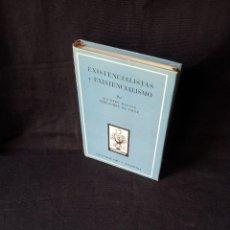 Libros de segunda mano: AGUSTIN BASAVE - EXISTENCIALISTAS Y EXISTENCIALISMO - COLECCION ORO 159 - ATLANTIDA PRIMERA EDICION . Lote 119836375