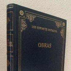 Libros de segunda mano - Los Estoicos antiguos: Obras (Gredos) (lb) - 131927079