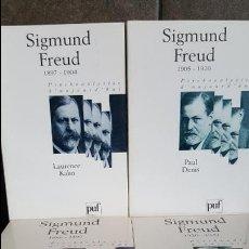 Libros de segunda mano: GIGMUND FREUD 4 LIBROS EN FRANCES. 1886-1897 , 1897-1904, 1905-1920 , 1920-1939 . EDITORIAL PUF.. Lote 120099463