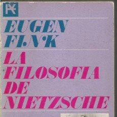 Livres d'occasion: EUGEN FINK. LA FILOSOFIA DE NIETZSCHE. ALIANZA. Lote 120426279