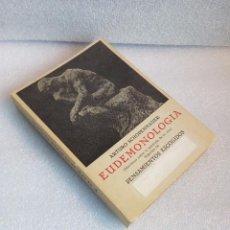 Libros de segunda mano: EUDEMONOLOGIA PENSAMIENTOS ESCOGIDOS SCHOPENHAUER ED IBERICAS 1961 SIN LEER. Lote 120943191