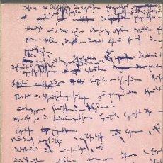 Libros de segunda mano: KARL MARX. MANUSCRITOS ECONOMIA Y FILOSOFIA. ALIANZA. Lote 158934296