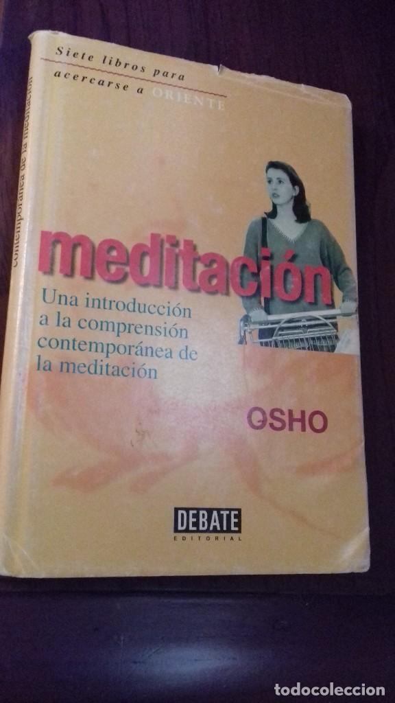 OSHO MEDITACION (Libros de Segunda Mano - Pensamiento - Filosofía)