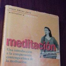 Libros de segunda mano: OSHO MEDITACION. Lote 123071783